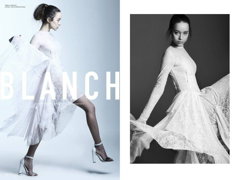 BLANCH for Remark Magazinephoto preview