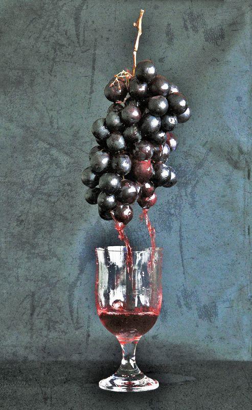 uva,vino,acini,bicchiere,still life, SuccoDivinophoto preview