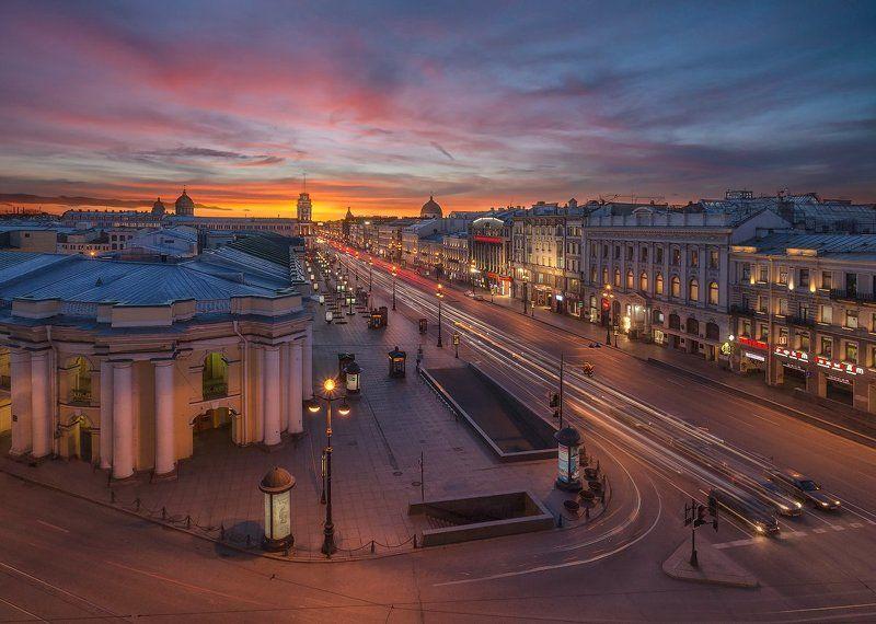 невский проспект, город, санкт-петербург ***photo preview