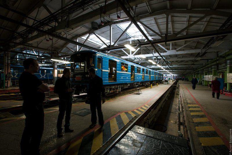 Электродепо Самарского метрополитенаphoto preview