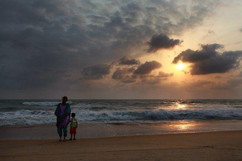 india, goa, beach, sunset, пляж, индия, гоа, закат India, Goaphoto preview