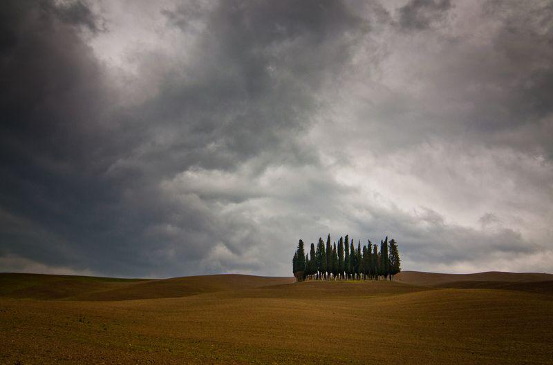 Тоскана, Val d\'Orcia Под весенними дождями Тосканыphoto preview