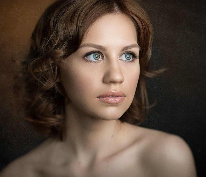 , #classical, #color, #girl, #painterly, Classical, portrait ***photo preview
