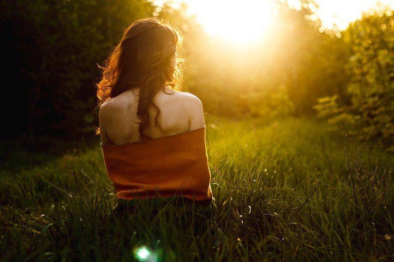 pray, girl, sunset prayphoto preview