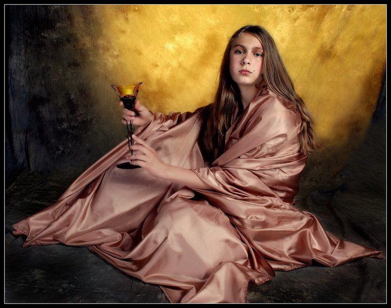 портрет, девушка, студия Екатеринаphoto preview