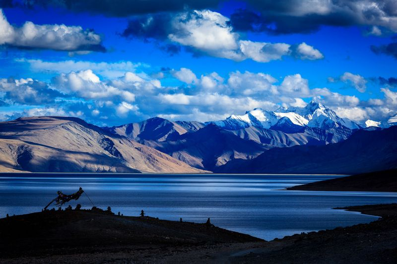 тцо морири, ладакх, индия, горы, гималаи Вдохновляясь Рерихомphoto preview