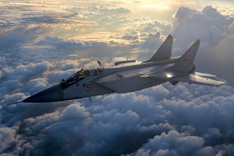 Air2Air, Inflight, Ввс, МиГ-31 A2Aphoto preview