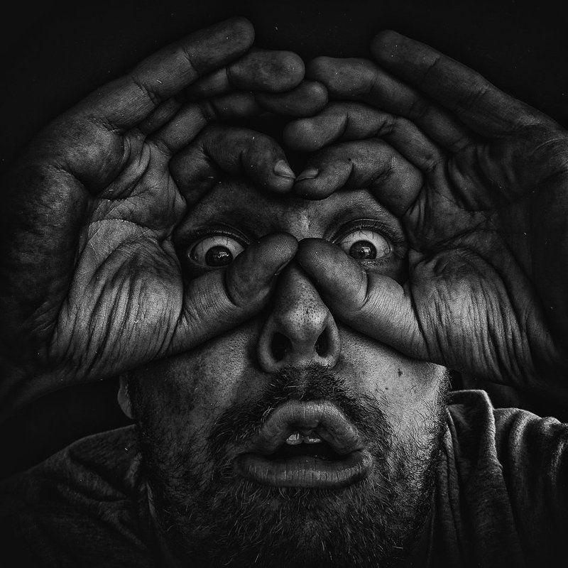 Cz?owiek, Darkness, Eye, Fotografia, Light, Man, Portrait Potential Viewer Photophoto preview