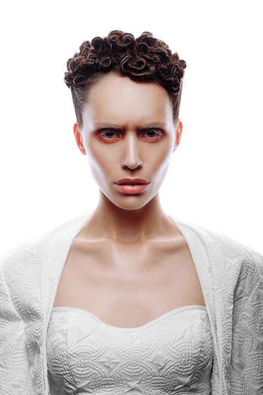 beauty, portrait, women, woman, hair, lips, white,  ***photo preview