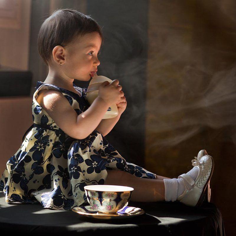 Beauty child, portraits, children portraits, portraits, Milk and toast and honey...photo preview