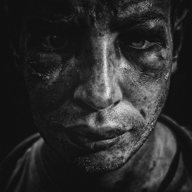 Battle, Darkness, Frame, Man, Portrait, View After The Battlephoto preview