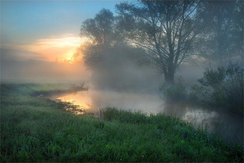 Река, Туман, Уды, Утро Утро на реке...photo preview