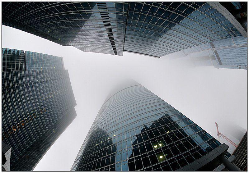 москва, сити, туман, деловой центр, иван исаев Туман-Сити IIphoto preview