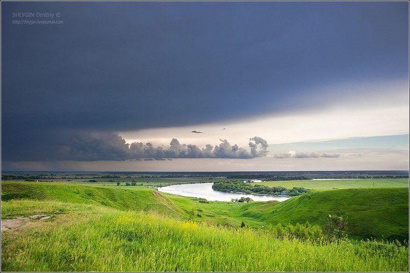 московская область, луховицкий район, бастанова гора Тьма наступаетphoto preview
