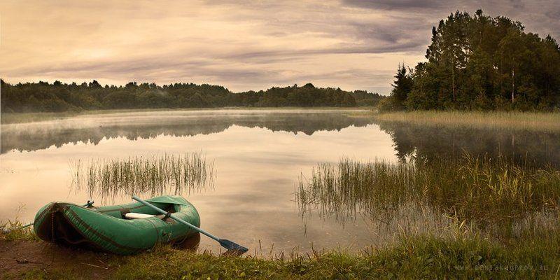 озеро, селигер, рыбалка Один день из...photo preview