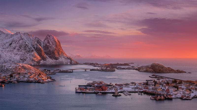 Norway Reine Lofoten photo preview