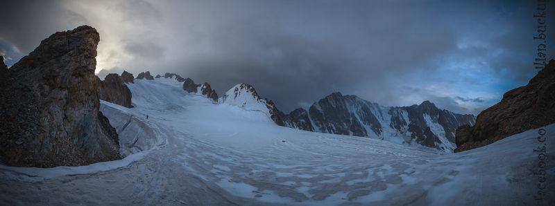 горы, киргизия, тень-шань, ледник, вершина, снег, восход, стоянка, ала-арча Ала-Арча 2015photo preview