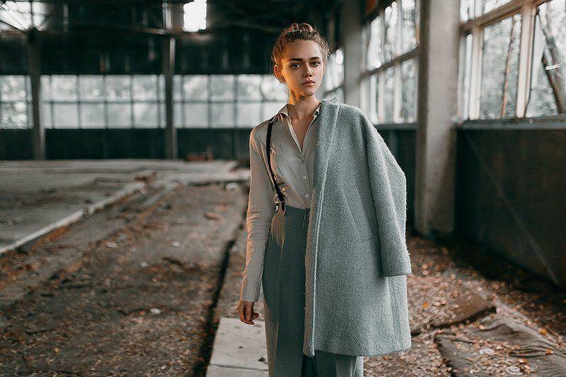 35 мм, Canon, Color, Film, Girl, Portrait Пустотаphoto preview