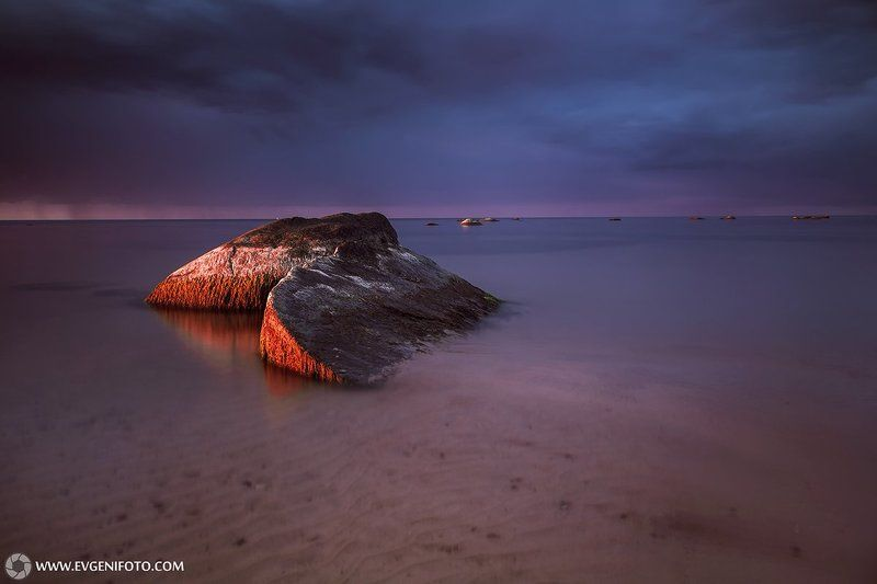 пейзаж,закат,море,landscape,sunset,nature,sea,baltic,estonia Тёплый вечер сентябряphoto preview
