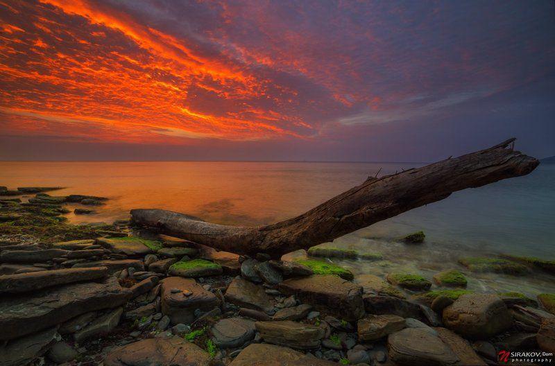 Морской пейзаж, Облака, Рассвет, Черное море После рассветаphoto preview