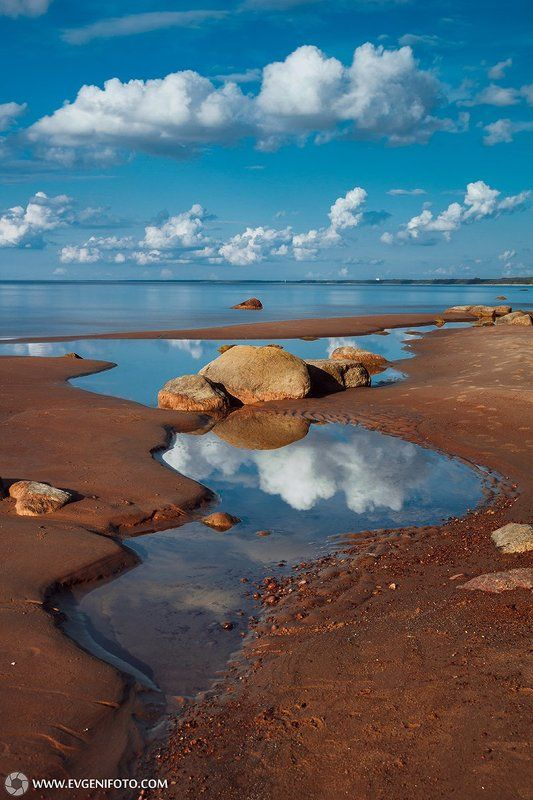 пейзаж,вода,отражения,природа,landscape,water,reflection,sky,sea Отраженияphoto preview