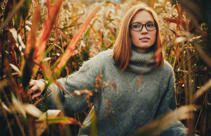 Девушка, Портрет, Рыжаявеснушки Юляphoto preview