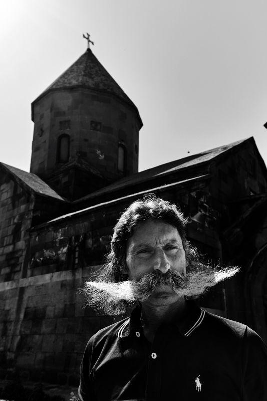 черно-белый, портрет, Армения,  Портрет из темницыphoto preview