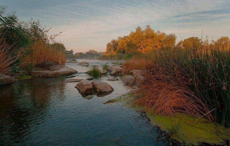 Река. Пороги. Осень. Осенние краски Gipanisa.photo preview