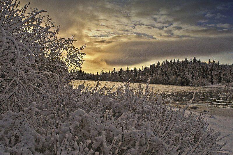 Аляска. Зима.photo preview