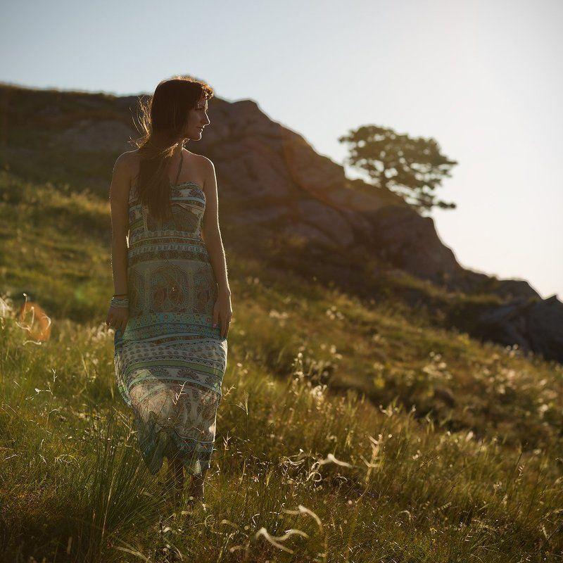 девушка, демерджи, крым, лето, портрет Inspirationphoto preview