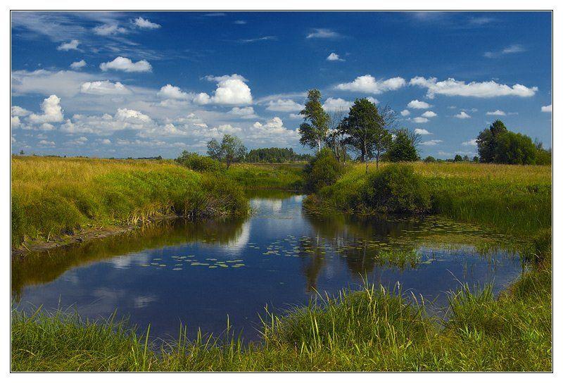 лето, река, облака, ляпота ~ 070 ~photo preview