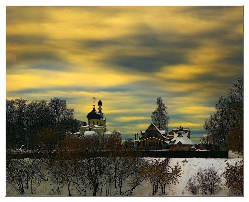 масленица церковь небо ~ 080 ~photo preview