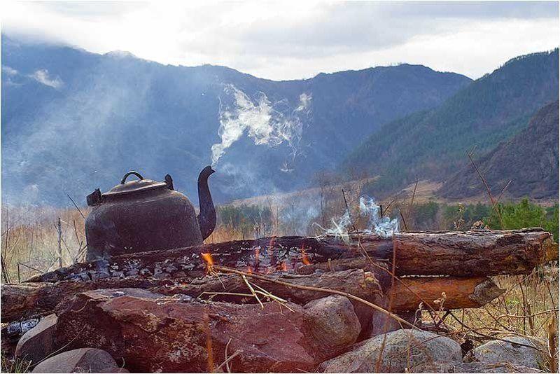 кату, чайник, утро утроphoto preview