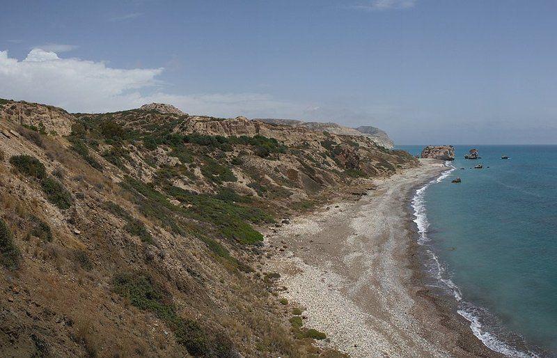 остров кипр камни афродиты море Погода наладилась!photo preview