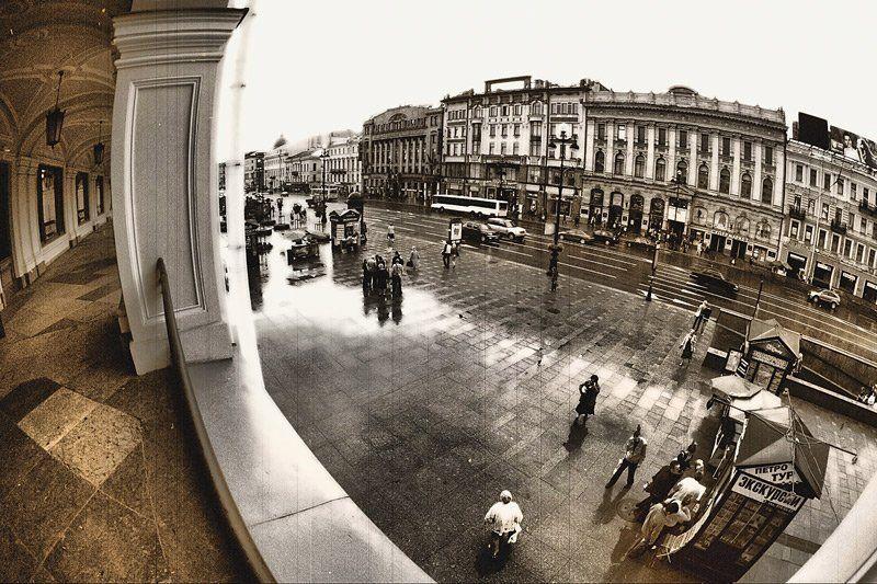Окно на Невский...photo preview