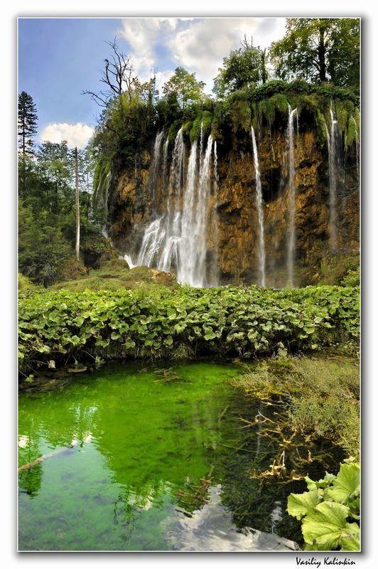 Водопады Плитвицких озёр -1 (Хорватия)photo preview