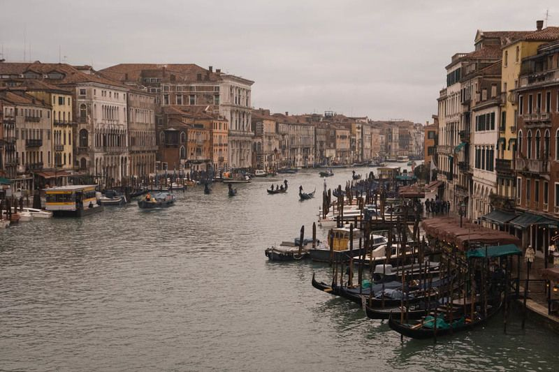 венеция Гранд Канал в межсезонье.photo preview