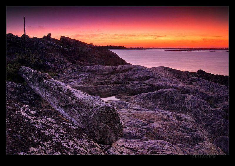 карелия, белое море, закат, рассвет, скалы naissancephoto preview