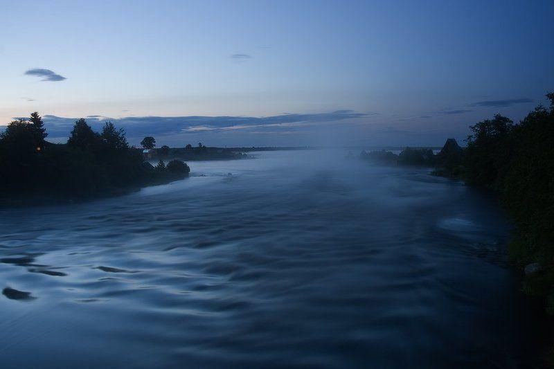 карелия, ночь, река, туман Туманная ночьphoto preview