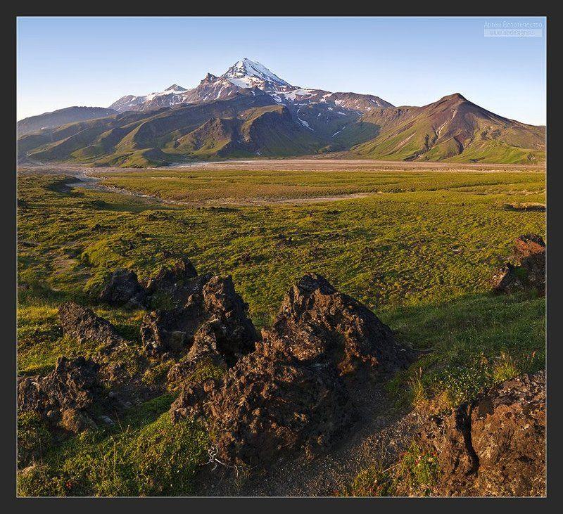 камчатка, вулкан, зимина, безымянный Вулкан Зиминаphoto preview