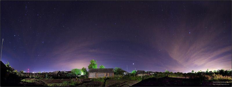 белоомут, московская область, ночь, пейзаж полуночный Белоомутphoto preview