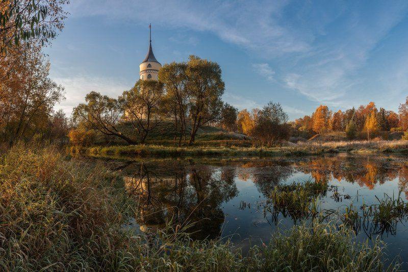 павловск, бип, мариенталь, славянка, тызва, осень, рассвет, россия про осень парка Мариенталь...photo preview