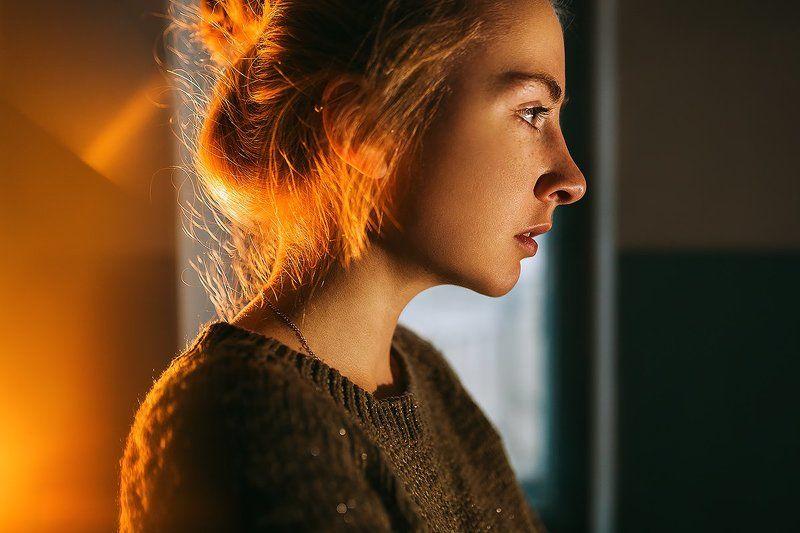 35 мм, Color, Film, Girl, Portrait Молчаниеphoto preview