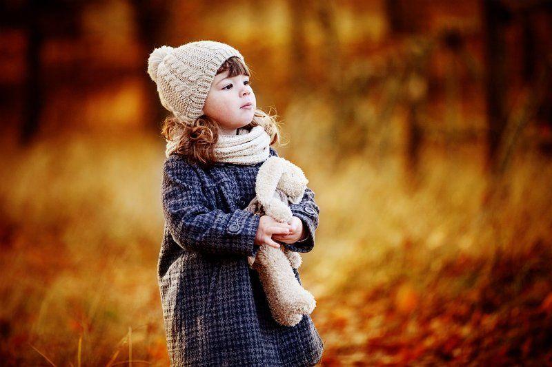 портрет,ребенок.осень ***photo preview