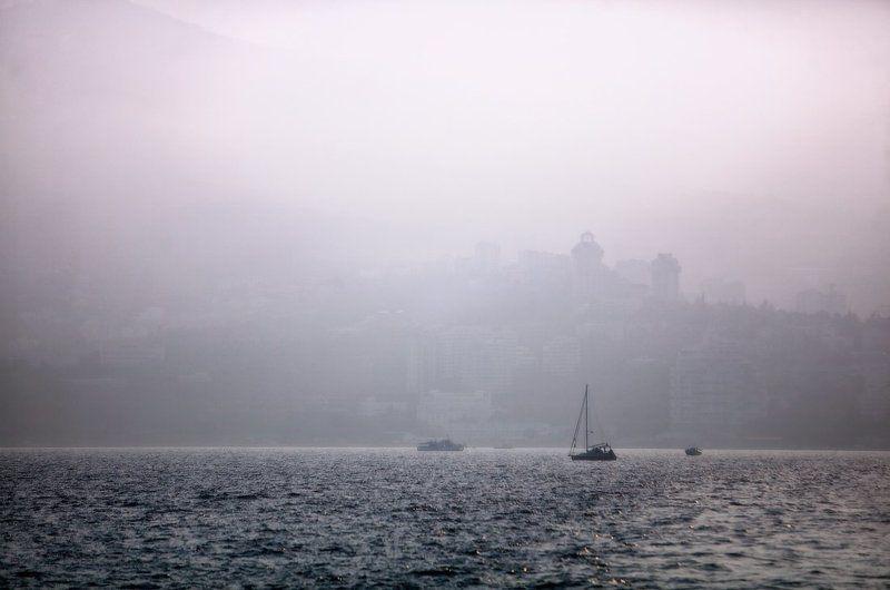 крым, море, горы, вода, закат, корабли, туман, свет Крымские зарисовкиphoto preview
