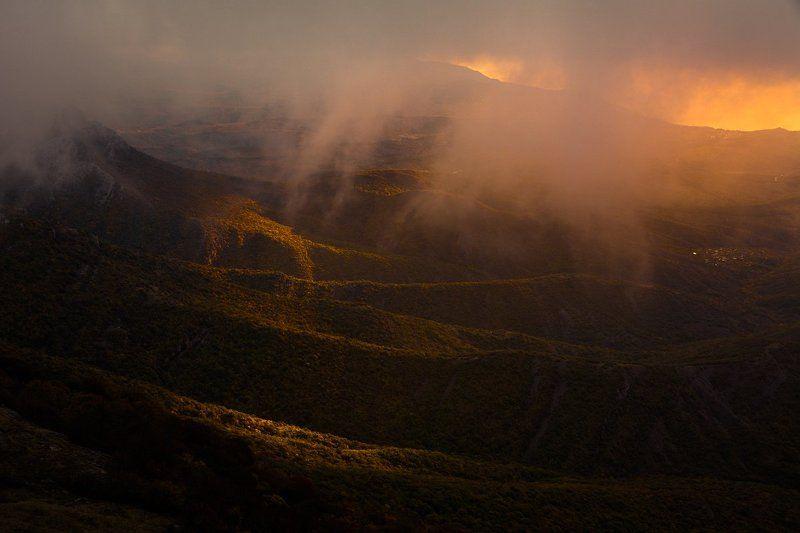 Демерджи, Крым, рассвет Наблюдая рассвет с Демерджиphoto preview