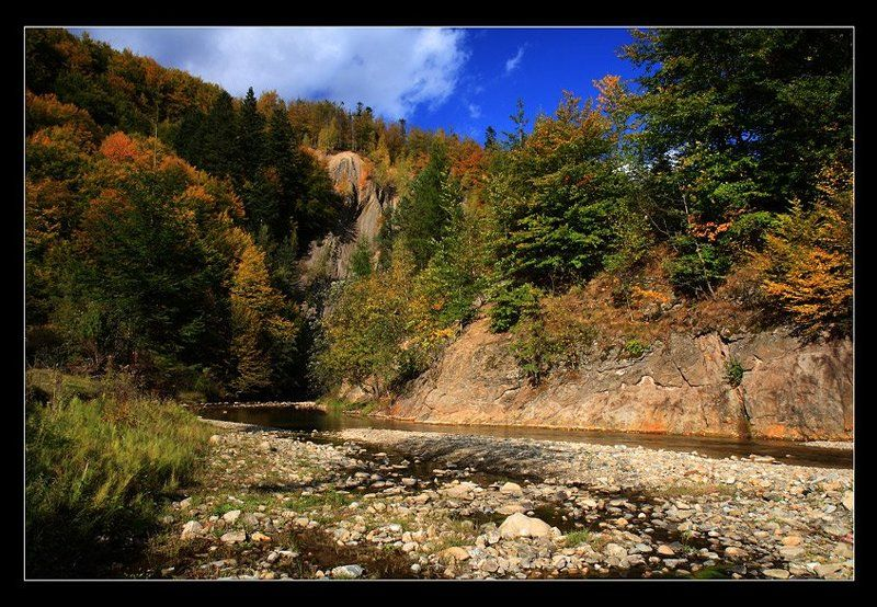 каньон, река, камни, осень Осень в каньонеphoto preview