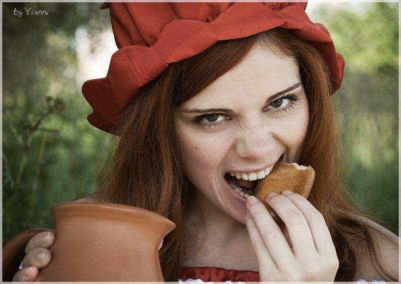 bad, girl, красная, шапочка, девочка Bad Girlphoto preview