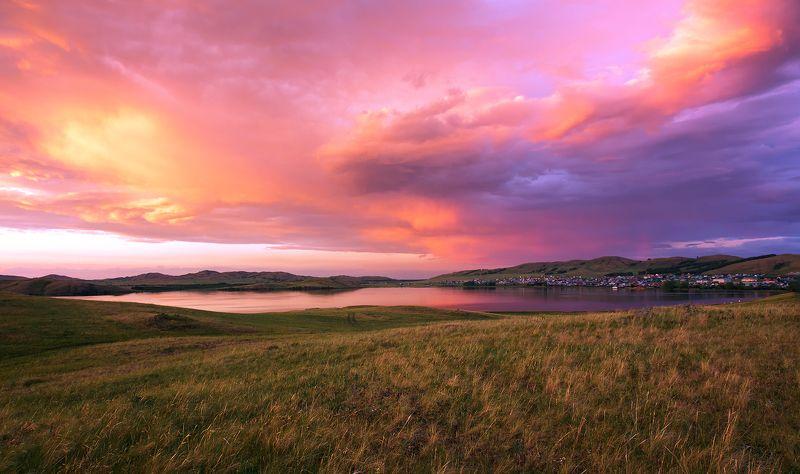 Южный Урал. Закатная.photo preview