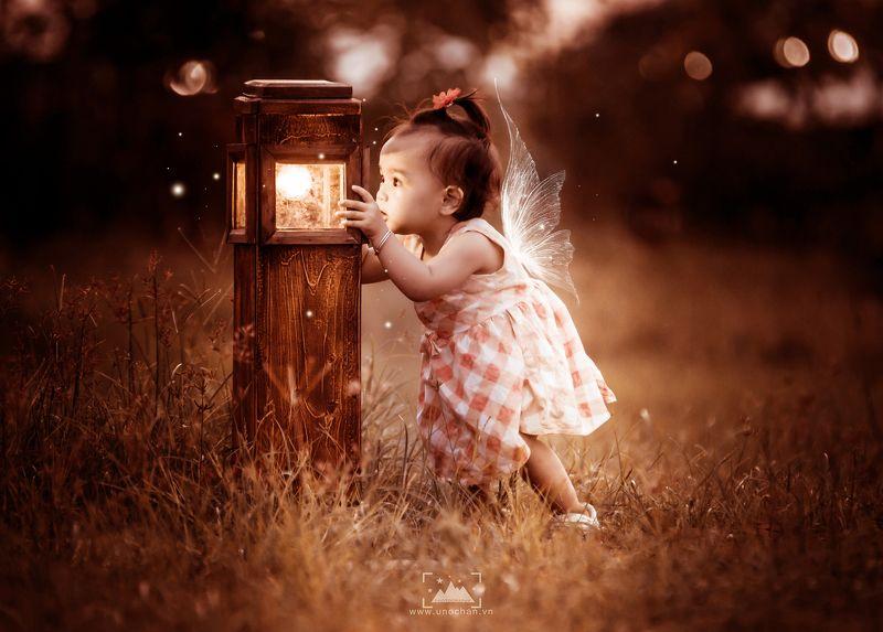 unochan, vuonghongchan, baby, angel, light my little girlphoto preview